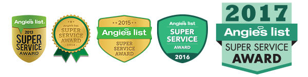 Angies List Super Service Award Winners